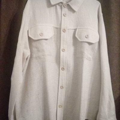 košile bílá - dl.rukáv - na objednávku