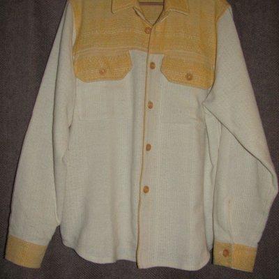 žlutá košile - na objednávku